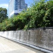 令和2年の西2丁目の壁泉の様子