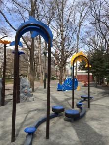 西9丁目遊具の画像