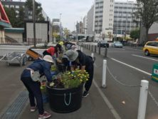 1004花壇ボランティア