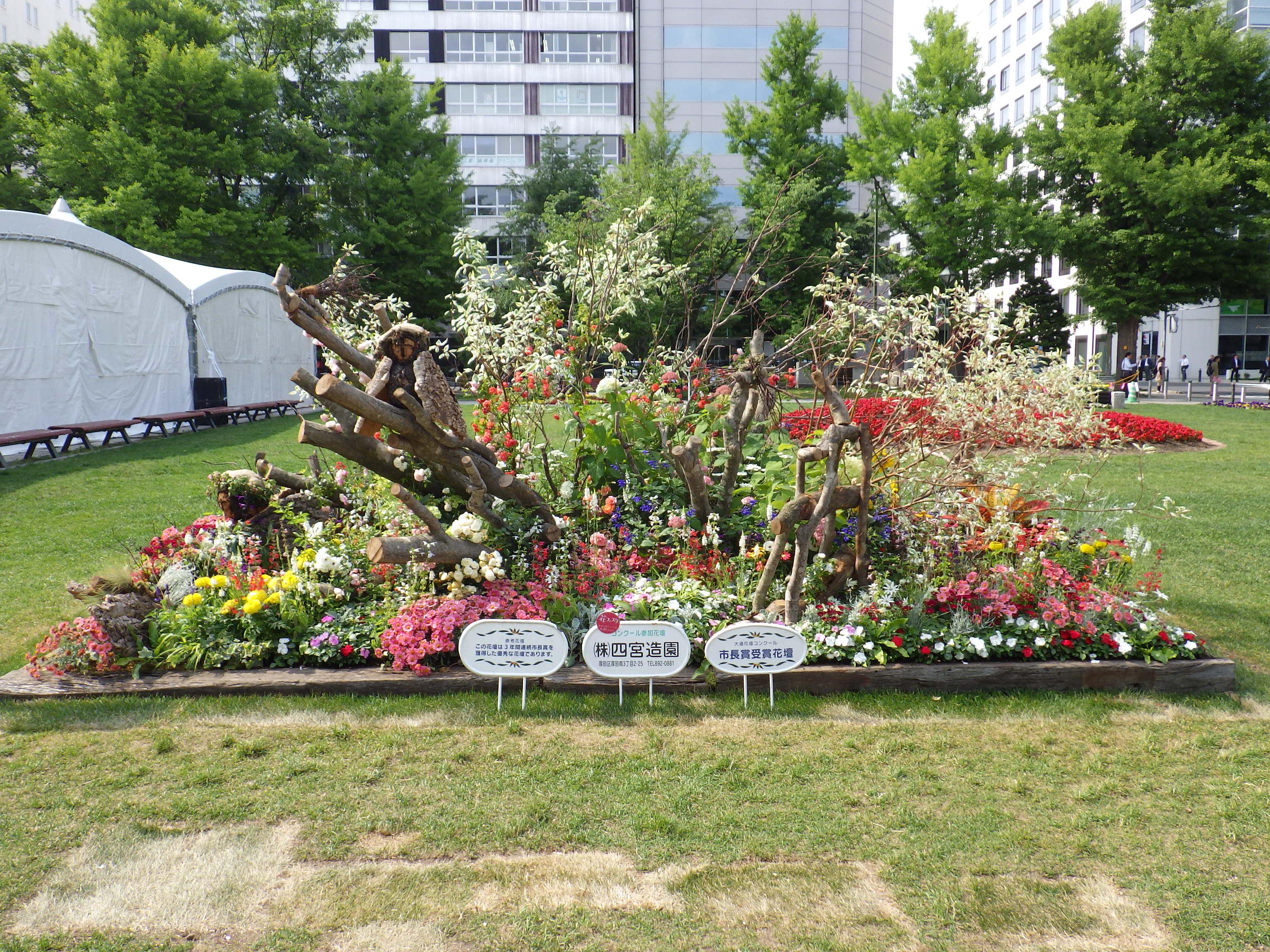 令和元年の花壇コンクール受賞花壇17