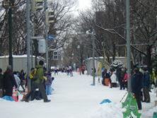 大通公園クロスカントリー競技大会の画像