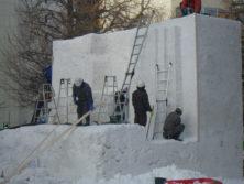 西7丁目中雪像の画像
